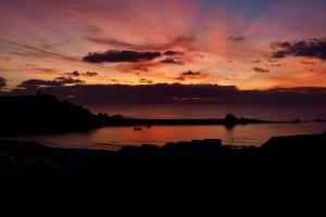 Summerleaze sunset